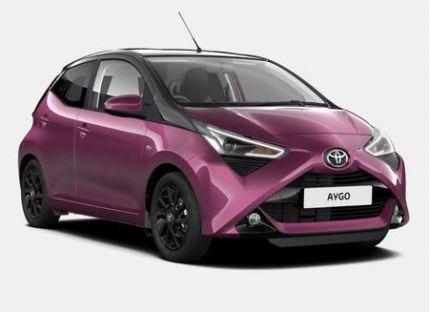 Toyota AYGO - 1.0 VVT-i x-cite 5 porte (Safety Sense)